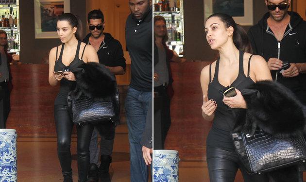 Kim kardashian no makeup